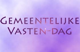 Zaterdag 27 Oktober 2018 – Vastendag