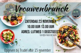 Zaterdag 23 November 2019 – Vrouwenbrunch